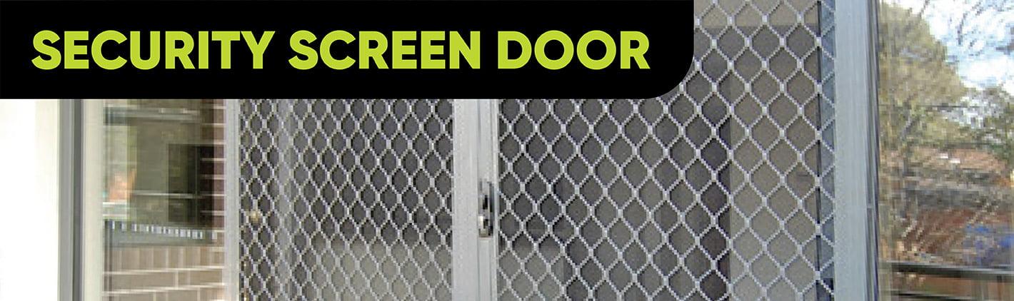 Door Hardware Security Screen Door Category Banner