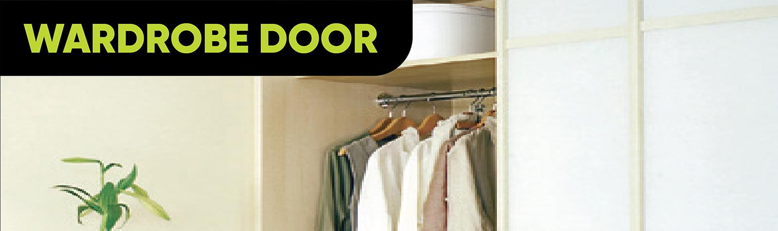 Door Hardware Wardrobe Door Category Banner